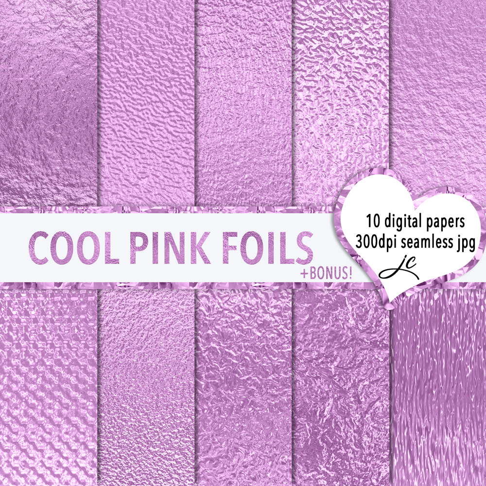 Cool Pink Foils example image 1