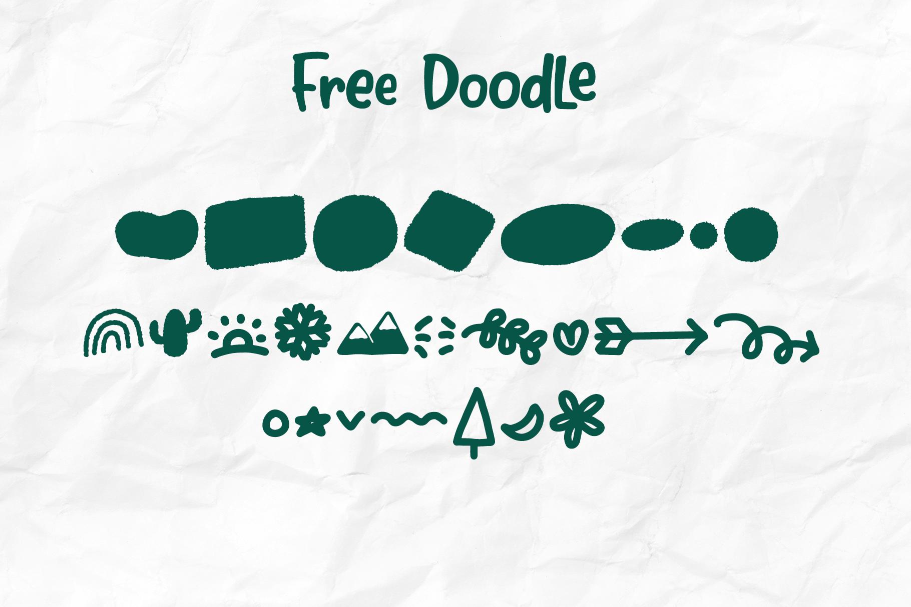 Bubble Mint - Fun written Font example image 9