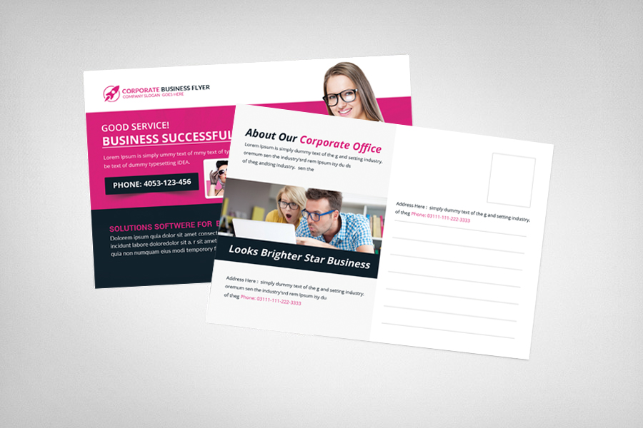 Trainer Postcard Template example image 2
