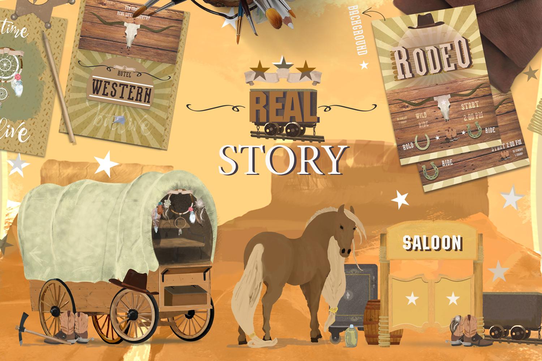 Wild West. Western Adventure example image 4