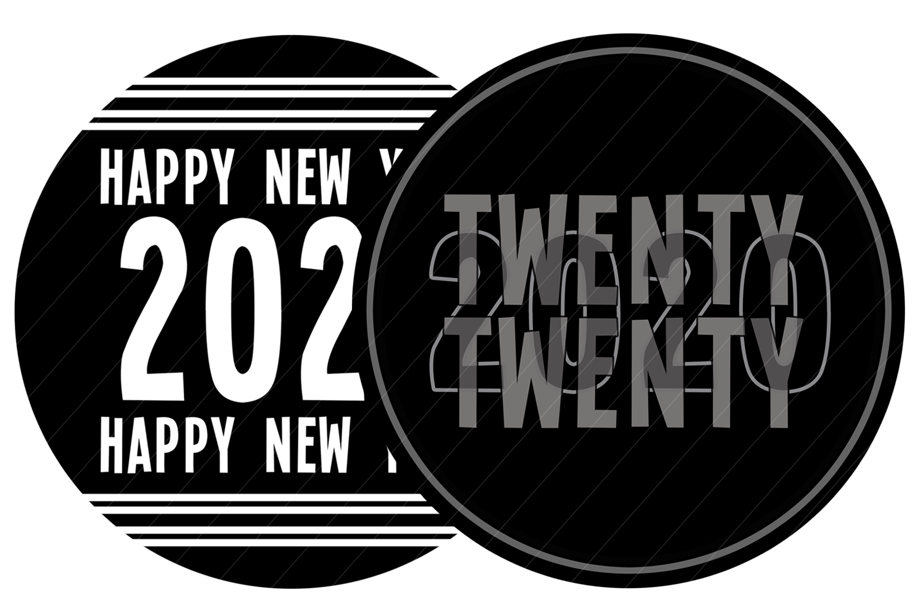 2020 New Year Designs for PRINTING, High Resolution example image 9