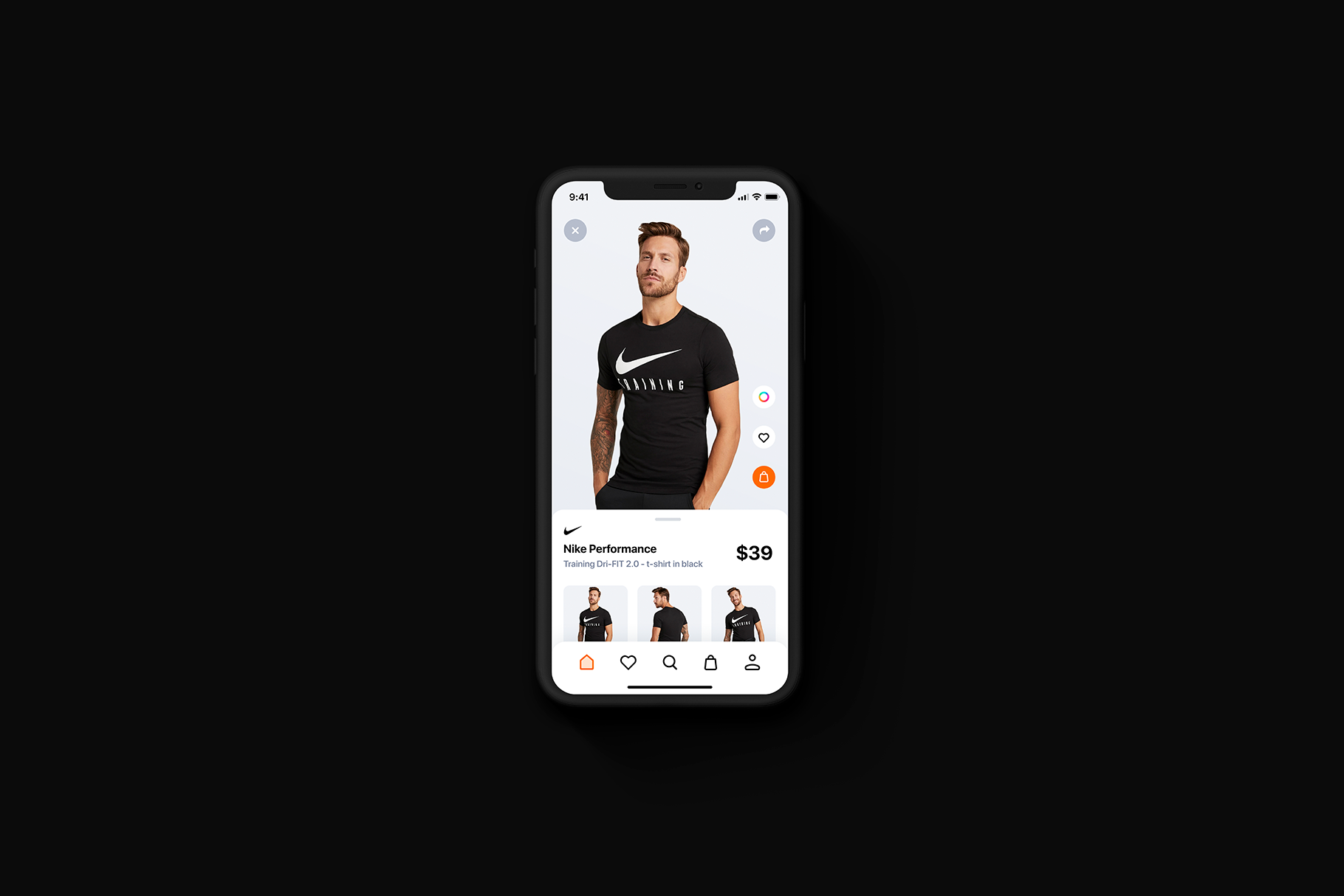 iPhone 11 Pro - 20 Clay Mockups Scenes - PSD example image 9