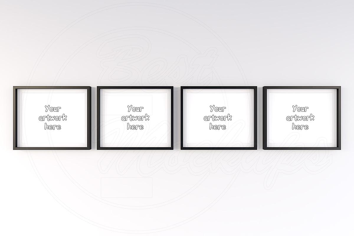 Art print mock-up frame landscape example image 2