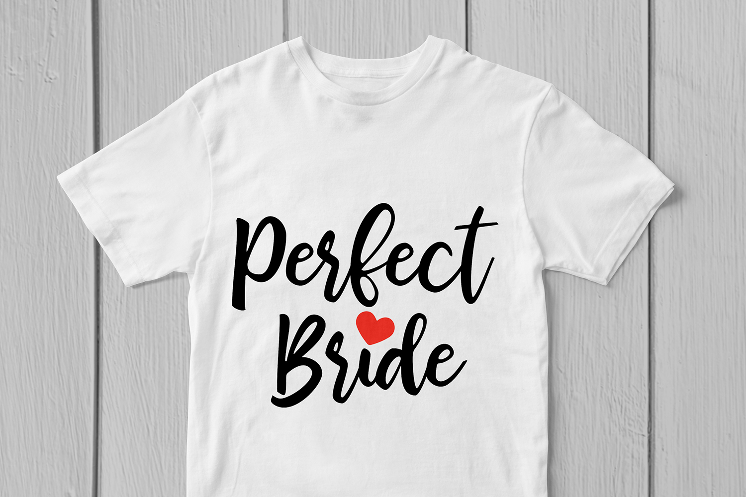 Perfect Bride - Wedding SVG EPS DXF PNG Cutting Files example image 3