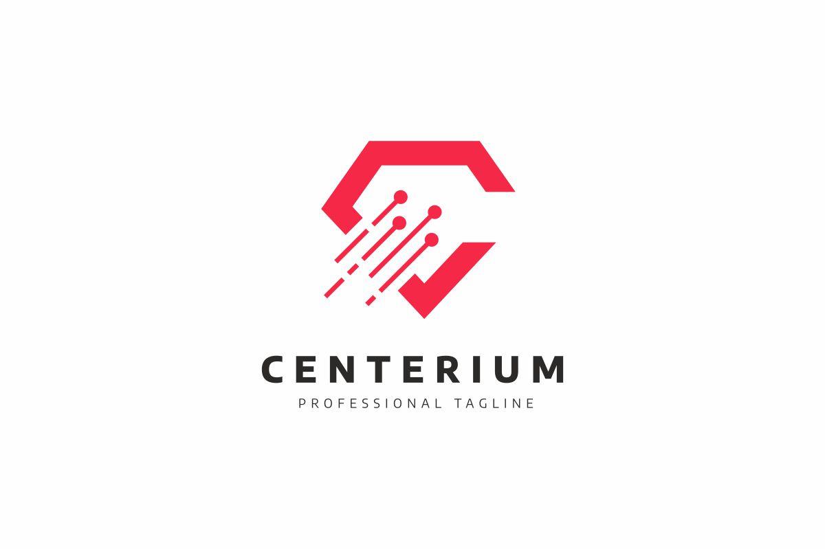 Centerium C Letter Logo example image 1