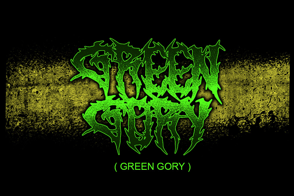 SARKEM TECHNICAL DEATH METAL FONT example image 2