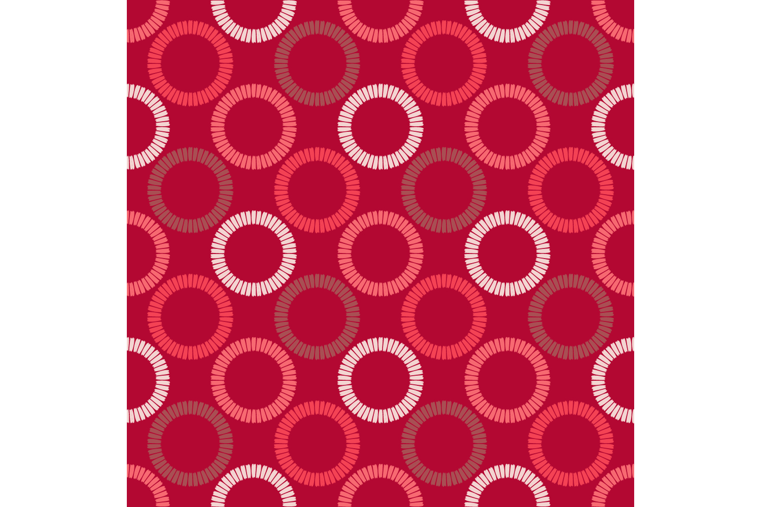 Polka dots ornament. Set of 10 seamless patterns. example image 10