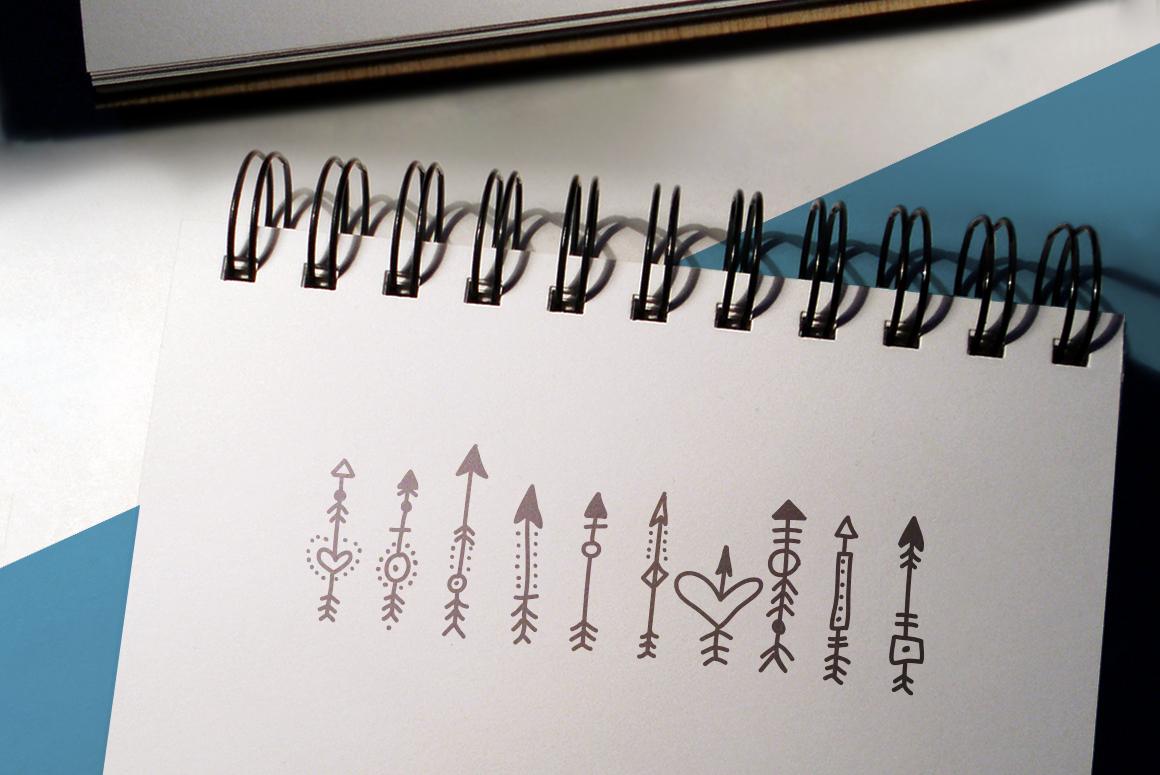 Boho-Chic Arrows & Deco Vectors example image 3