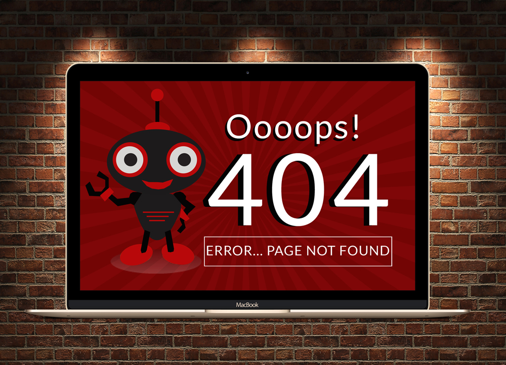 Not Found 404 Page  example image 2