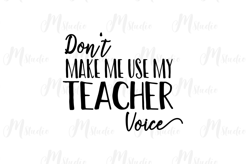 Teacher SVG Bundle. example image 12