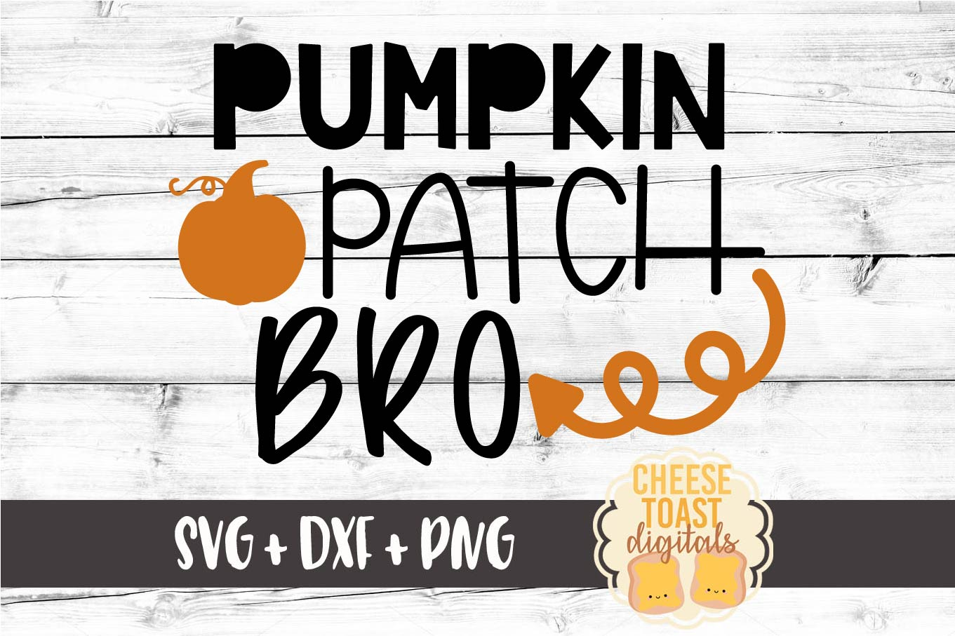 Pumpkin Patch Bro - Fall SVG File example image 2