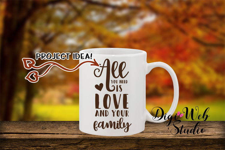 Mockup Bundle - Fall Country Wood Signs, Pillow & Coffee Cup example image 14