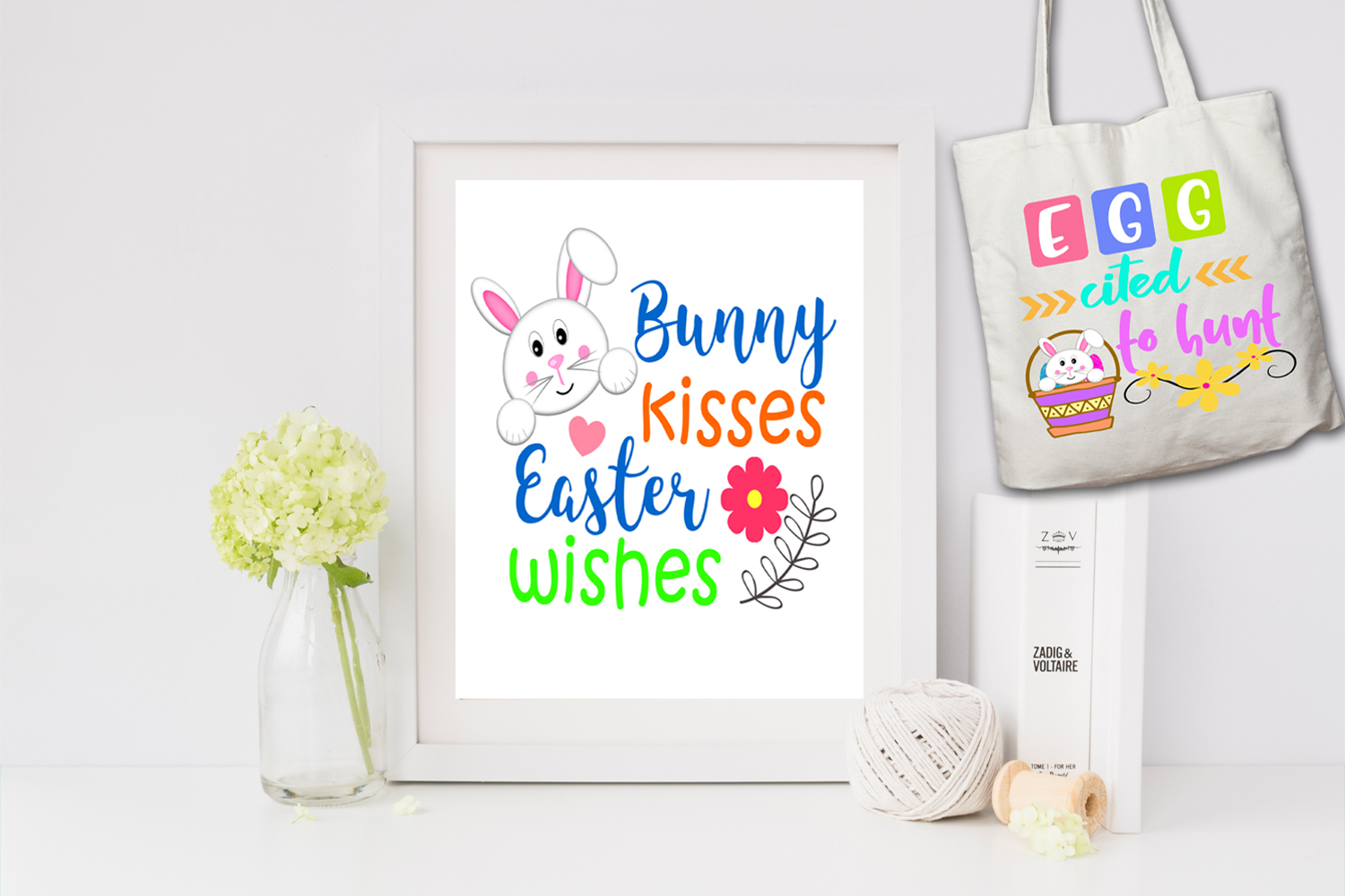 Easter Word Art Clipart-Easter Puns-Easter Graphics Clipart example image 2