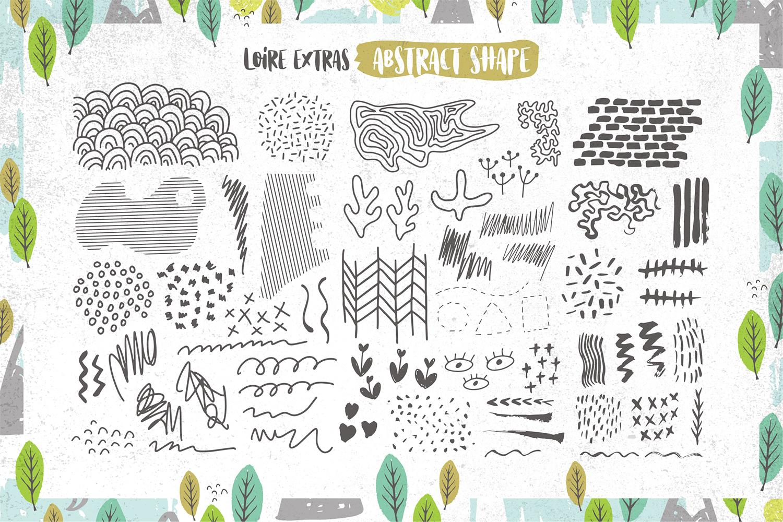 Loire Font Pack & Graphic Bundle example image 11