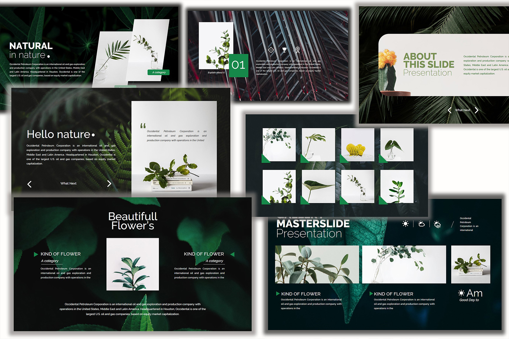 Nature Keynote Template example image 3