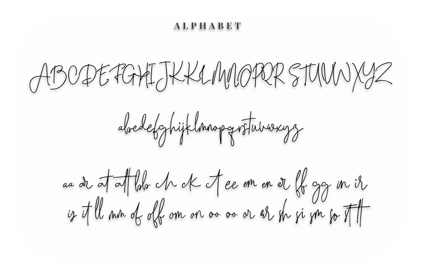 The Wind First - script font example image 6