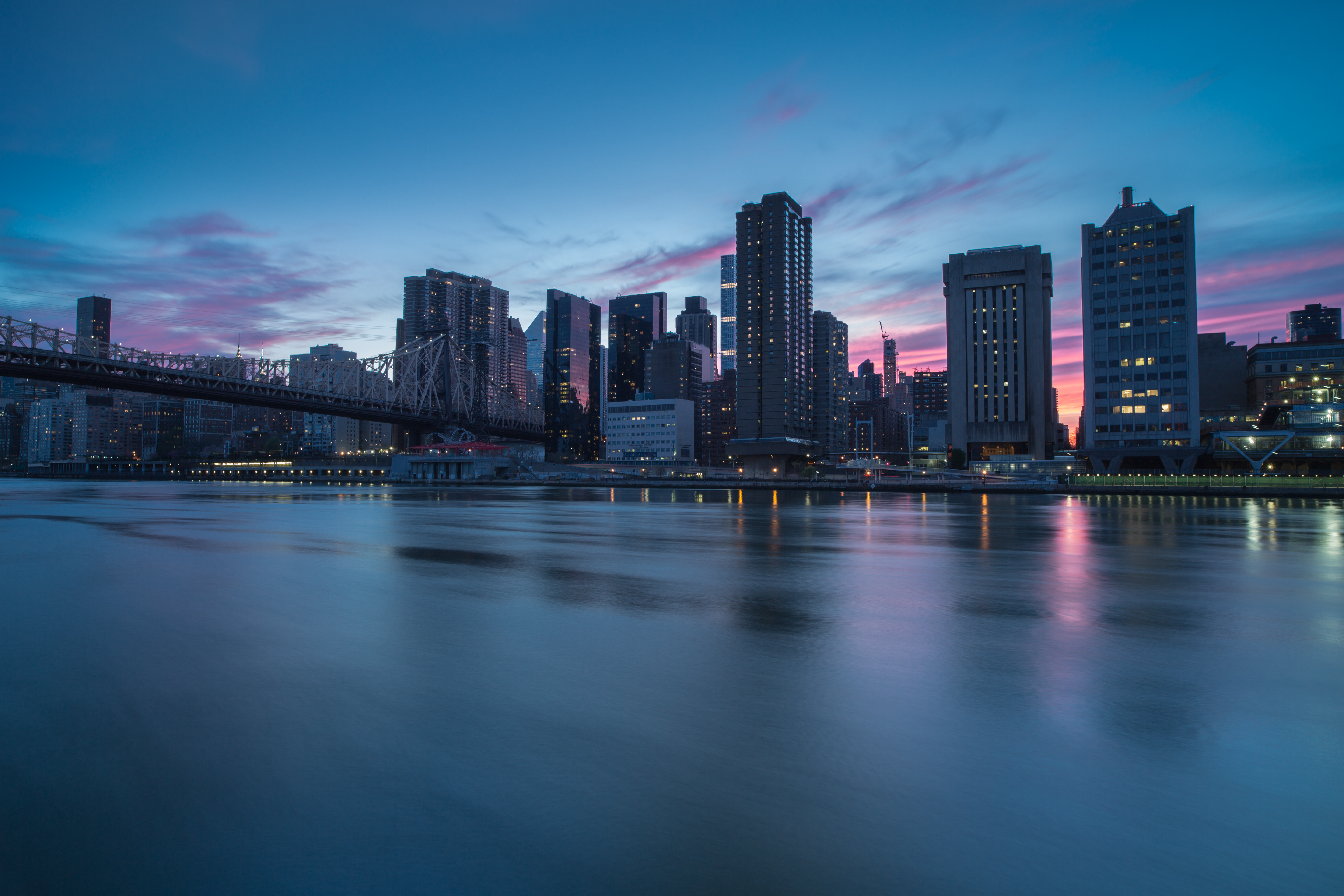 Sunset in Midtown Manhattan	 example image 1