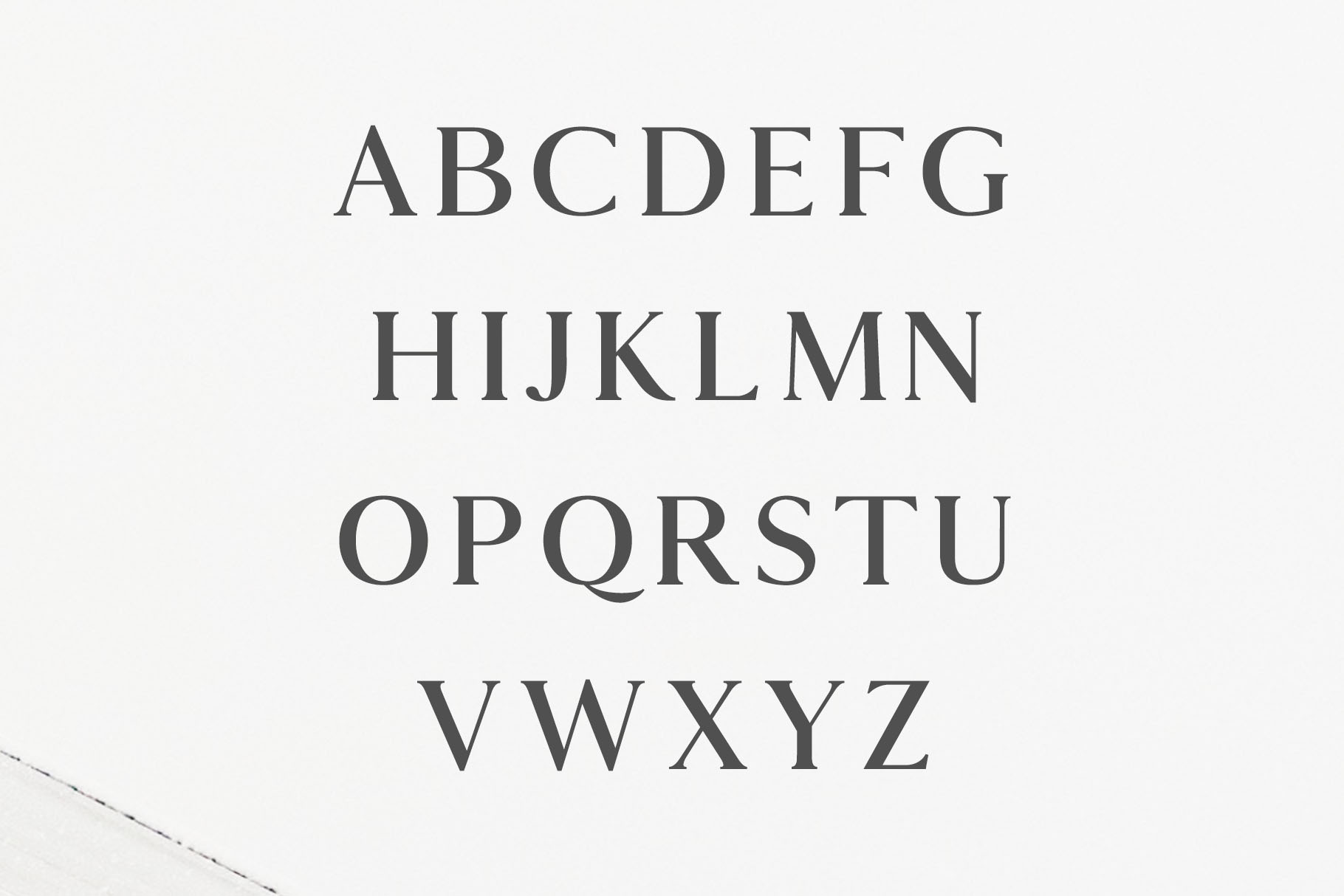 Hyogo A Modern Serif Font Family example image 2