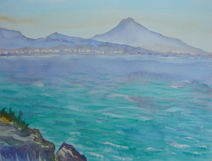 Watercolor Seascapes example image 7