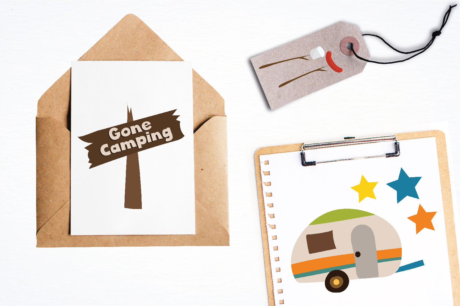 Camping Cute Graphics example image 4