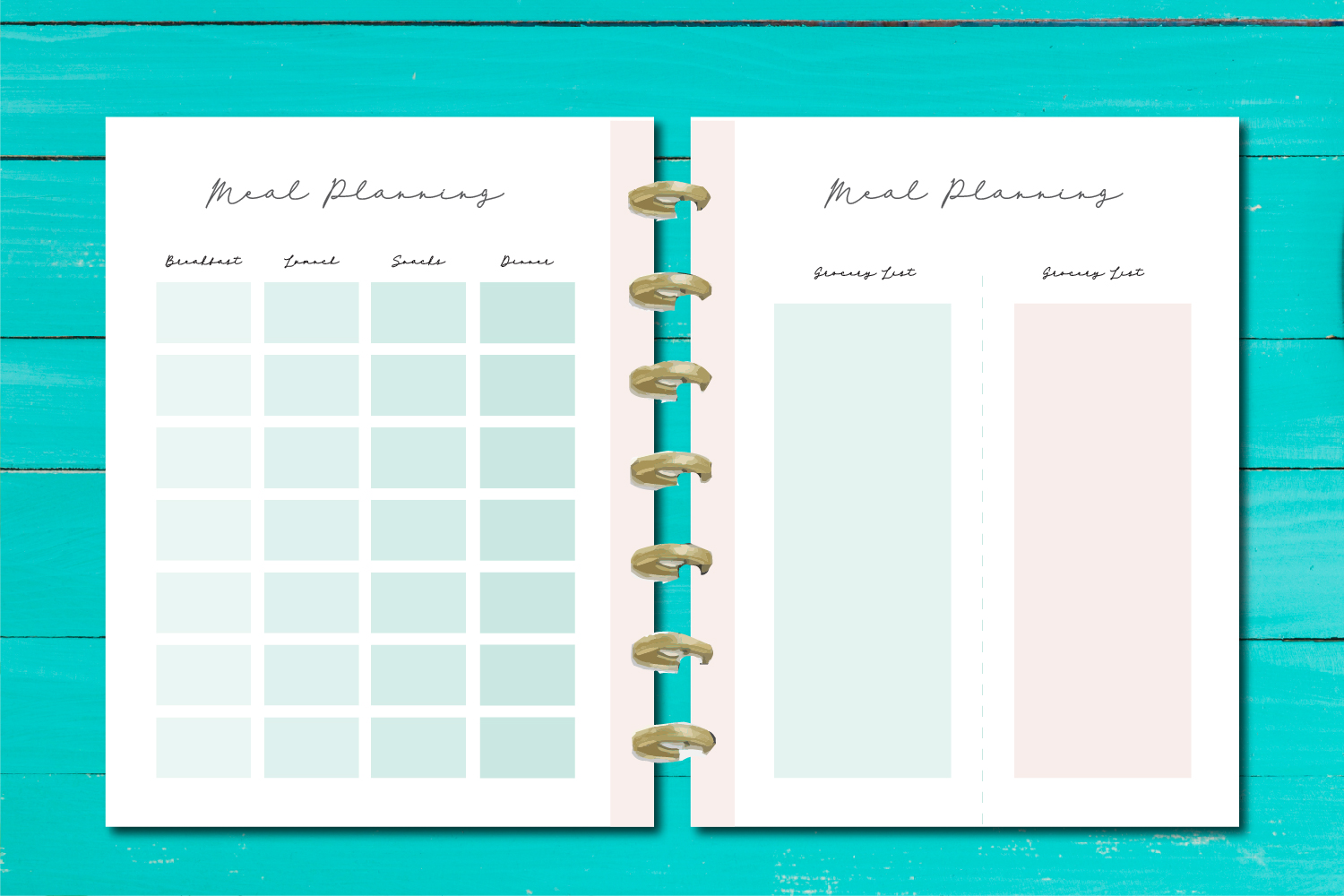 Meal Planner Printable example image 4