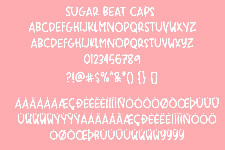 Sugar Beat Handwritten Font example image 4