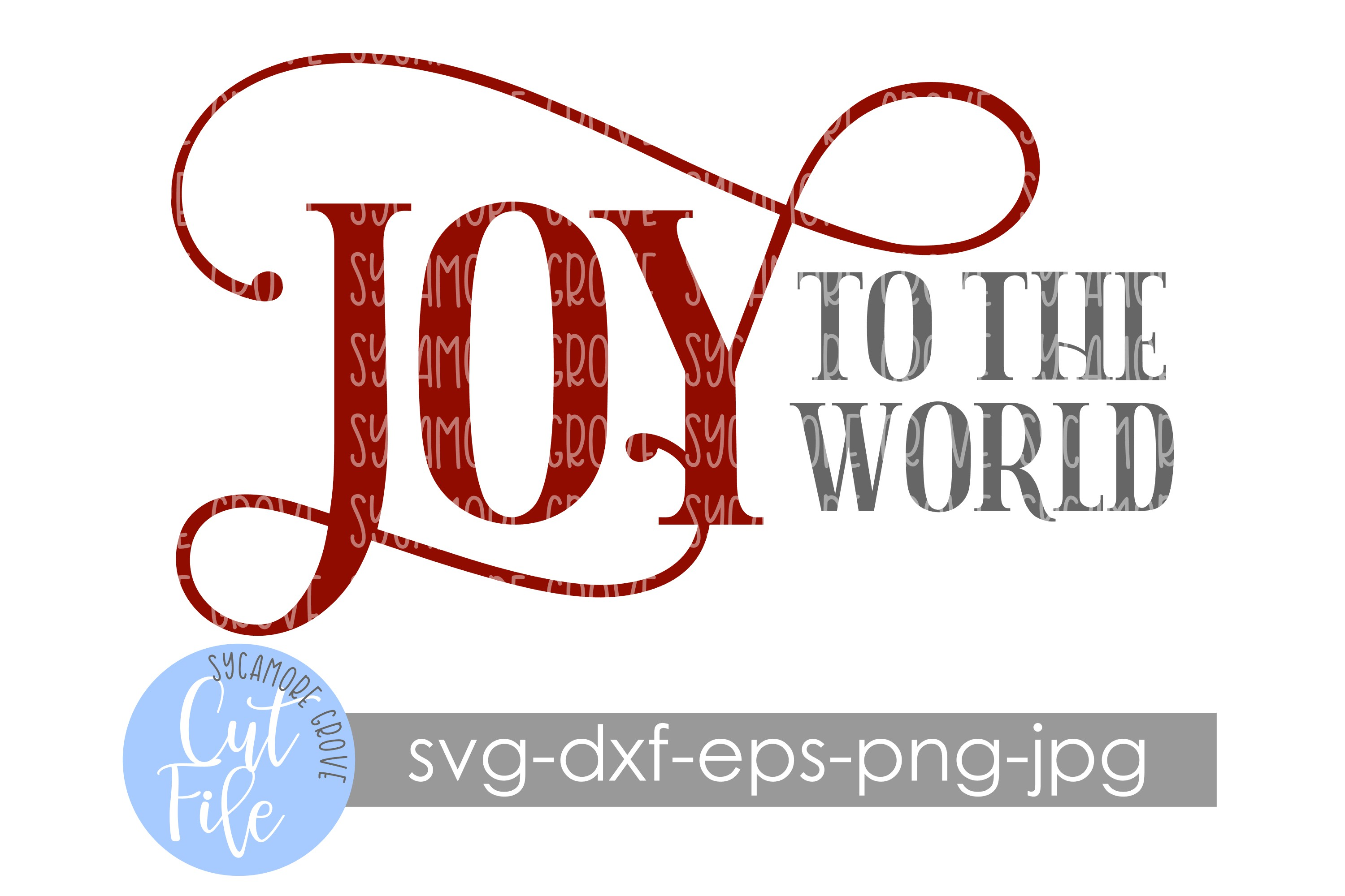 Joy To The World | Christmas SVG example image 7
