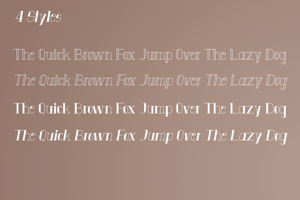 Anatta Display Serif Typeface example image 3
