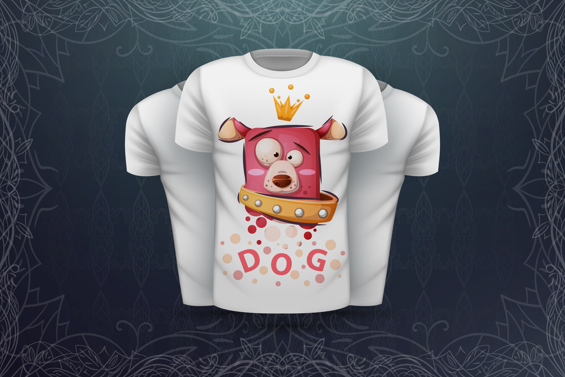 Set cute animal - for print t-shirt example image 2
