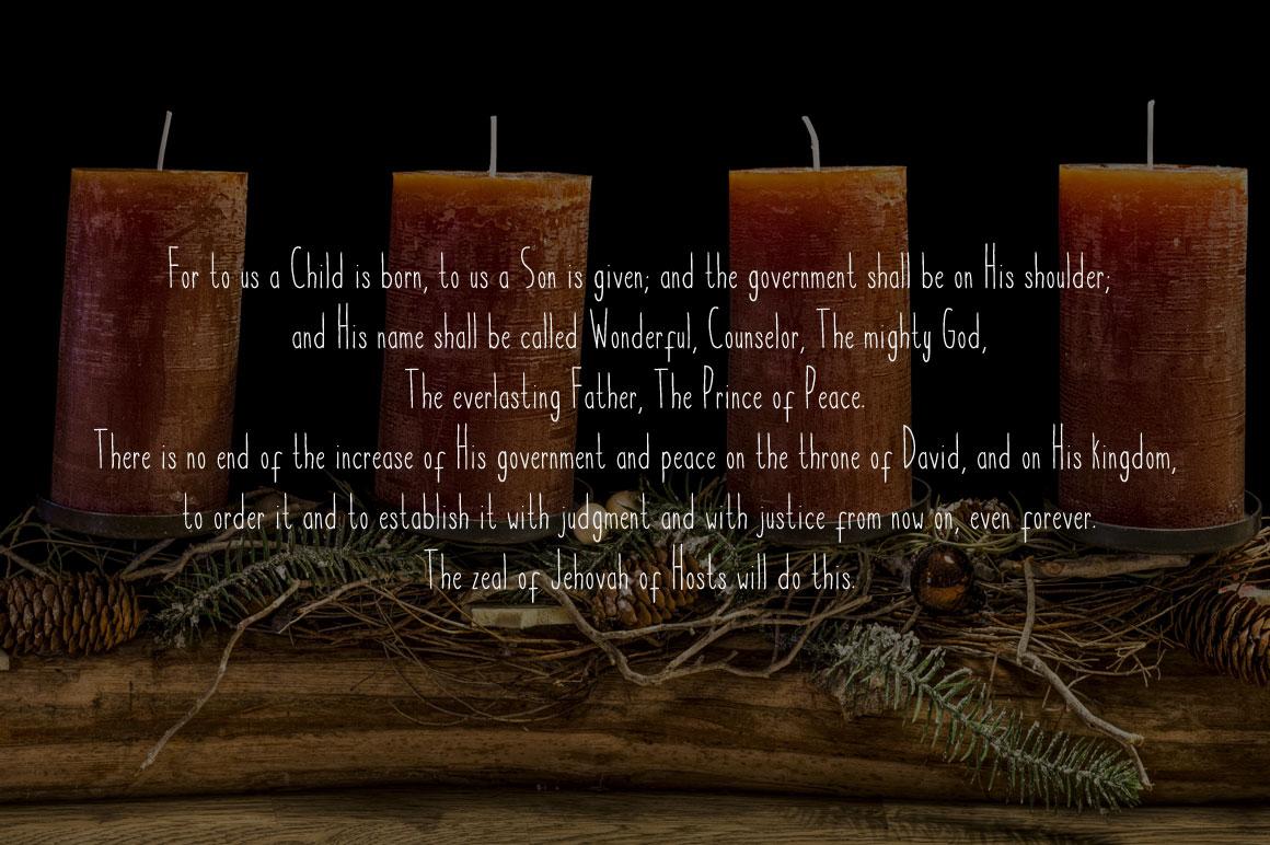 Candlestik Christmas Font & Extras example image 4