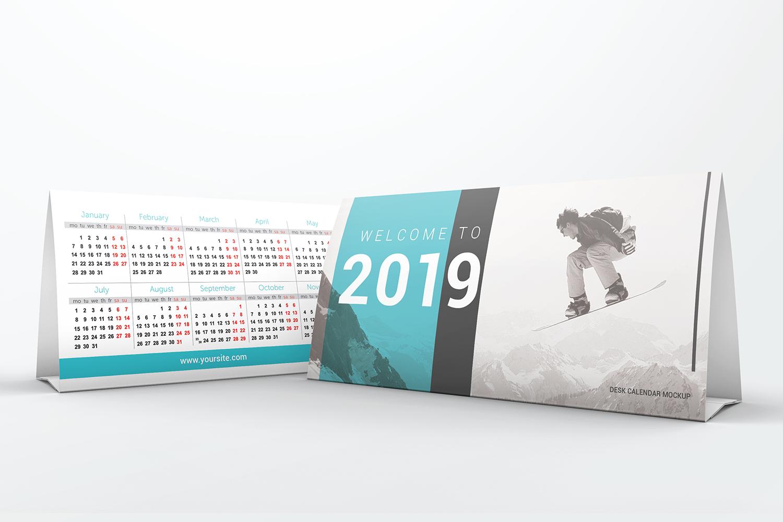 Desk Calendar Mockups example image 4