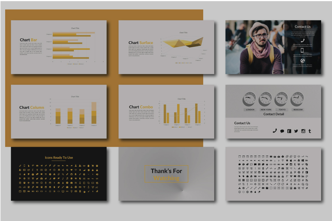 Grand Keynote Template example image 5