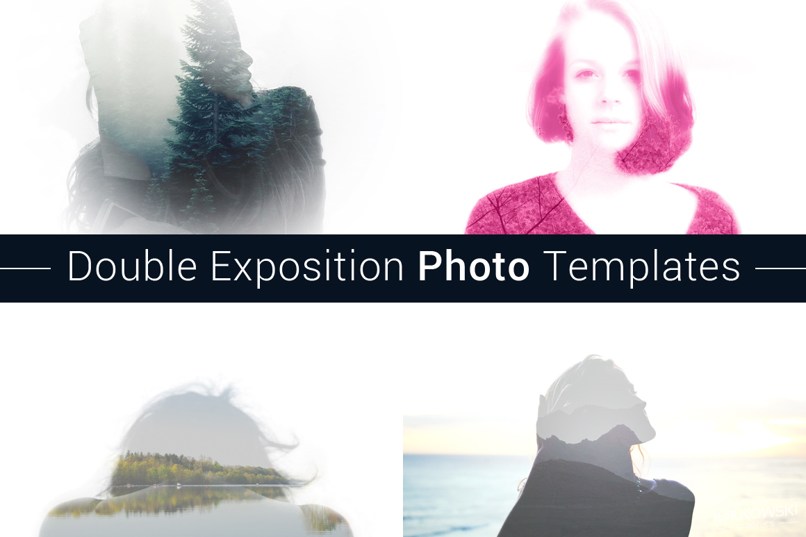 Double Exposition Photo Templates example image 1