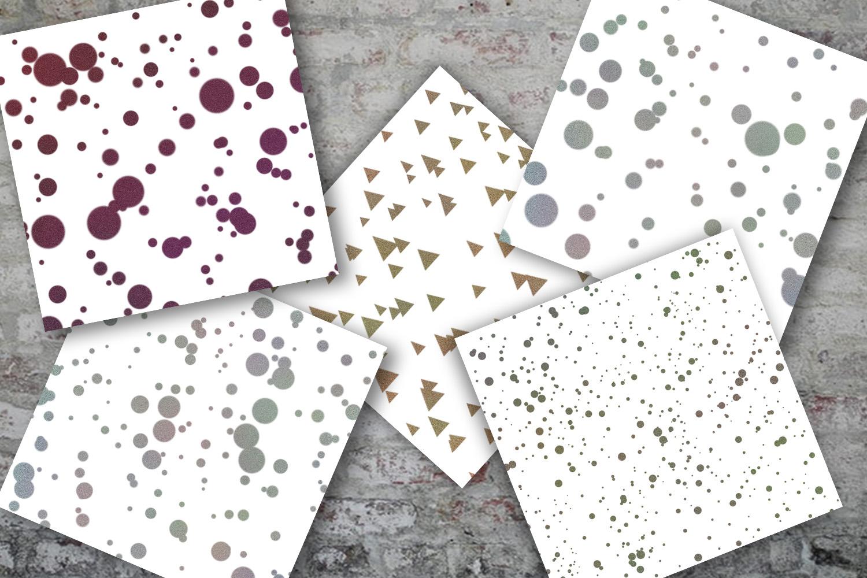 Glitter Confetti Digital Paper, Glitter Confetti, SALE example image 4