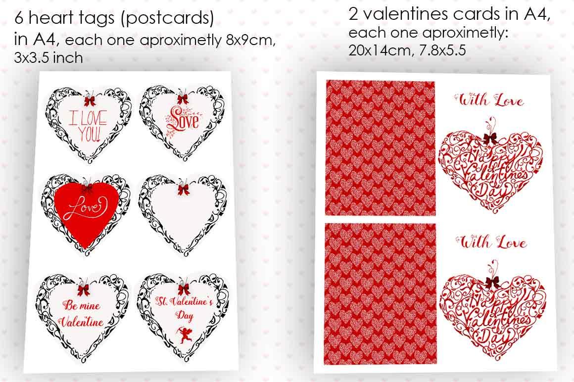 Valentine 21 Set example image 2