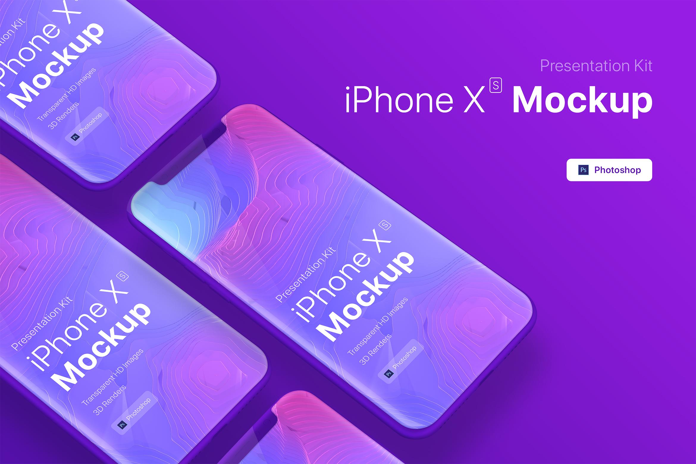 Presentation Kit - iPhone showcase Mockup_v9 example image 4