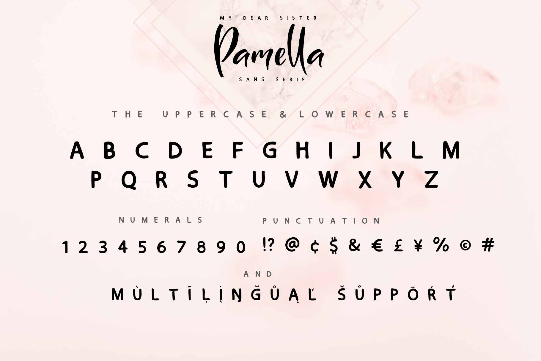 Sister Pamella Font Duo example image 14