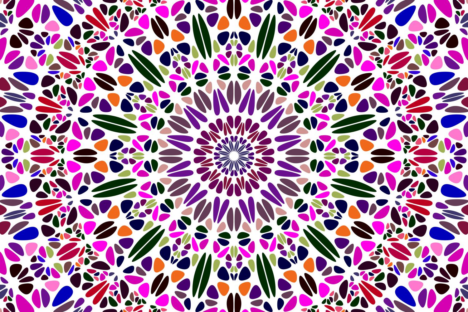 48 Floral Mandala Backgrounds example image 25