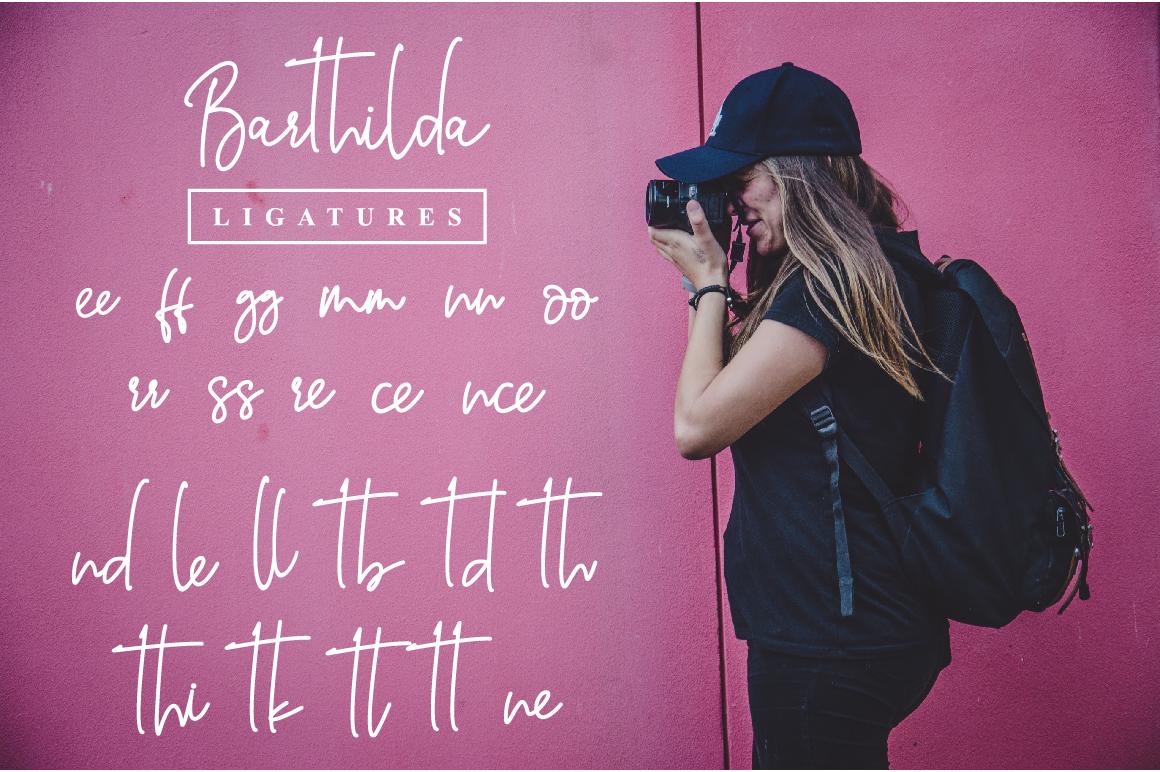 Barthilda Font example image 9
