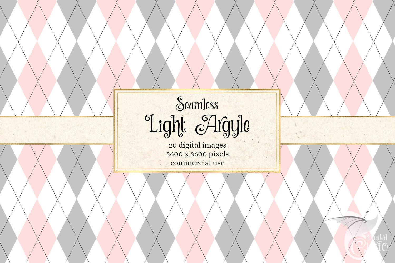 Light Argyle Patterns example image 2