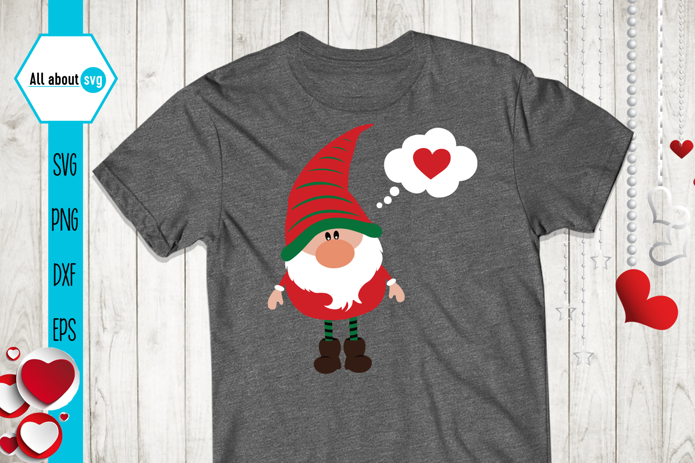 Valentine's Gnomies Svg Bundle example image 4