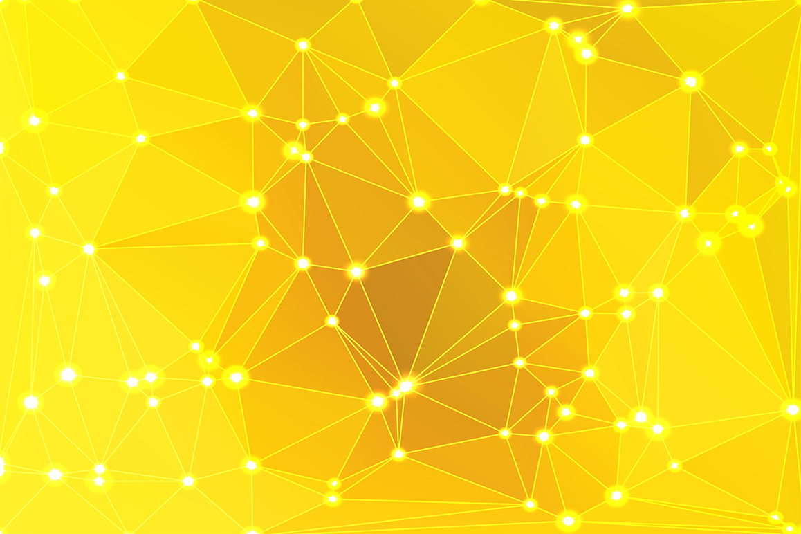 Polygon vector backgrounds set example image 11