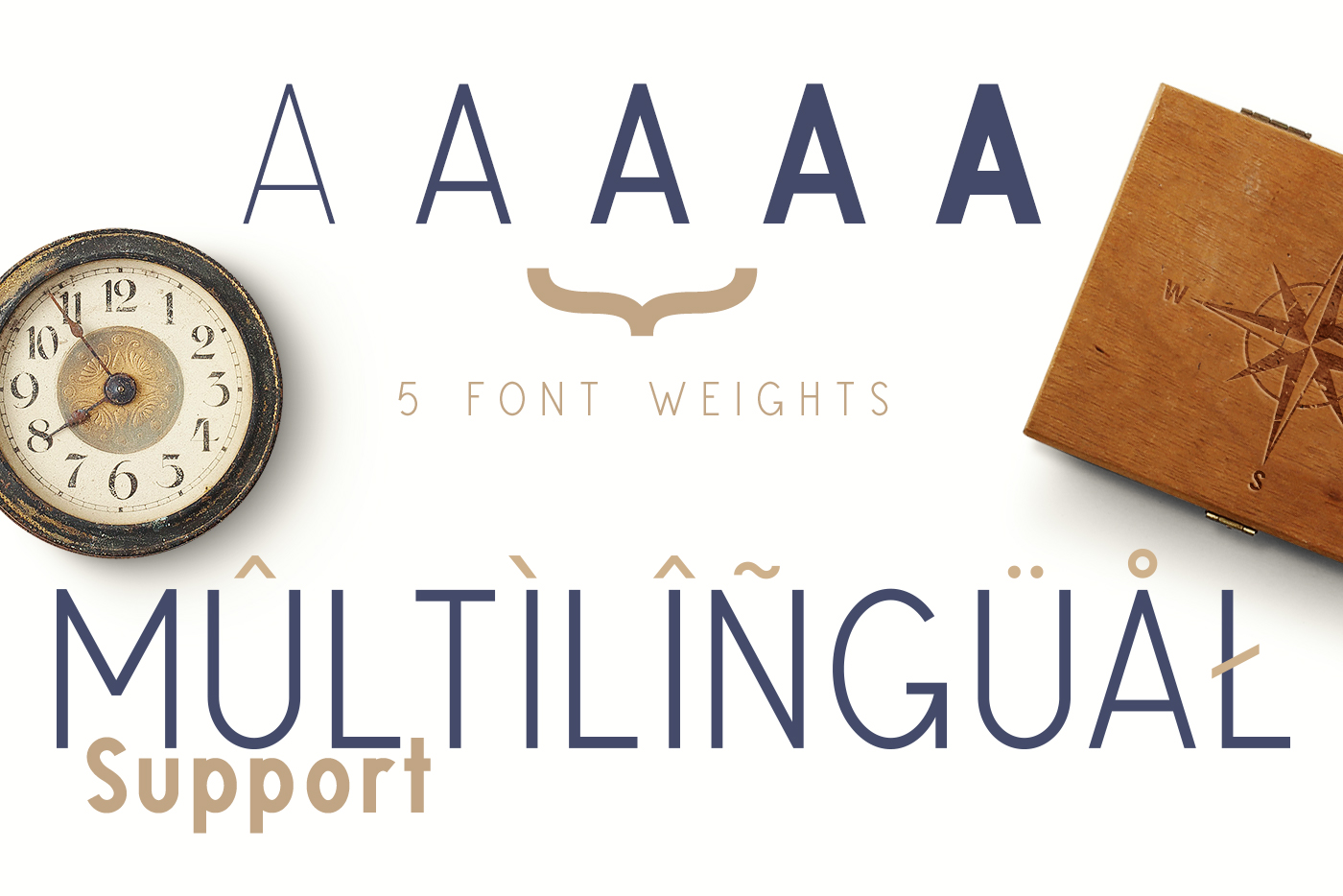 Glaschu Font Family example image 3