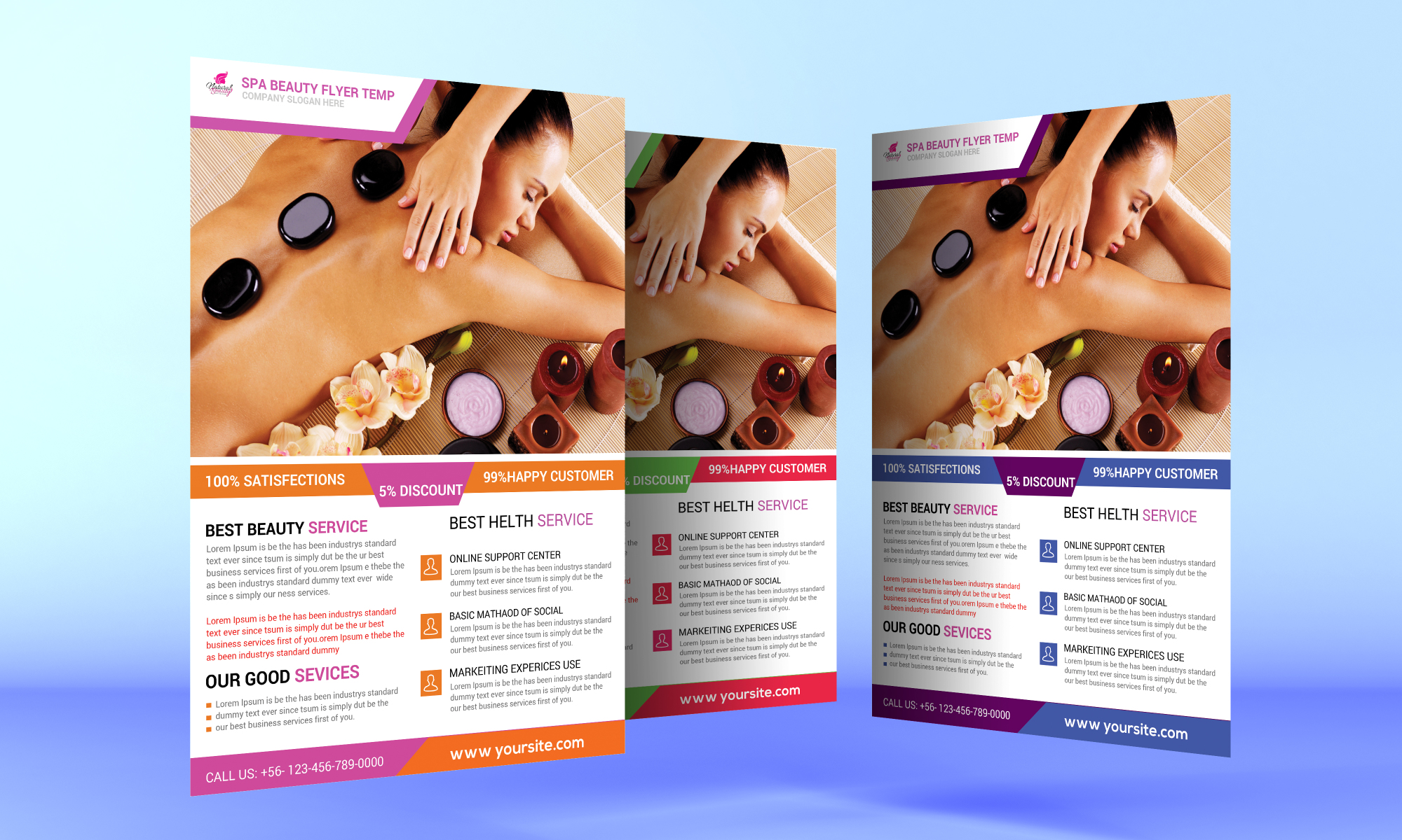 Beauty Spa Flyer example image 1