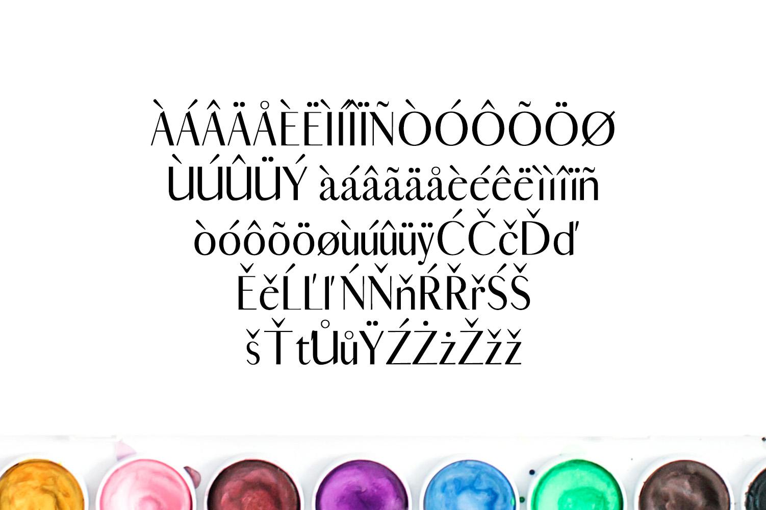 Cordaro Sans Serif Typeface example image 4