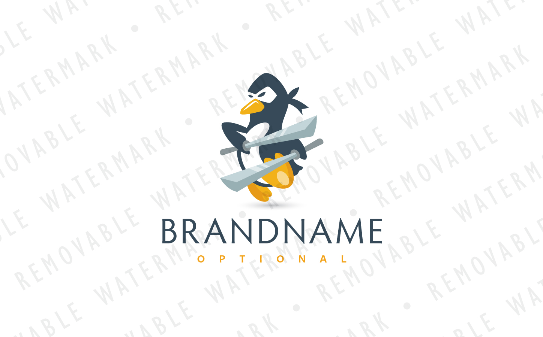 Ninja Penguin Logo example image 2