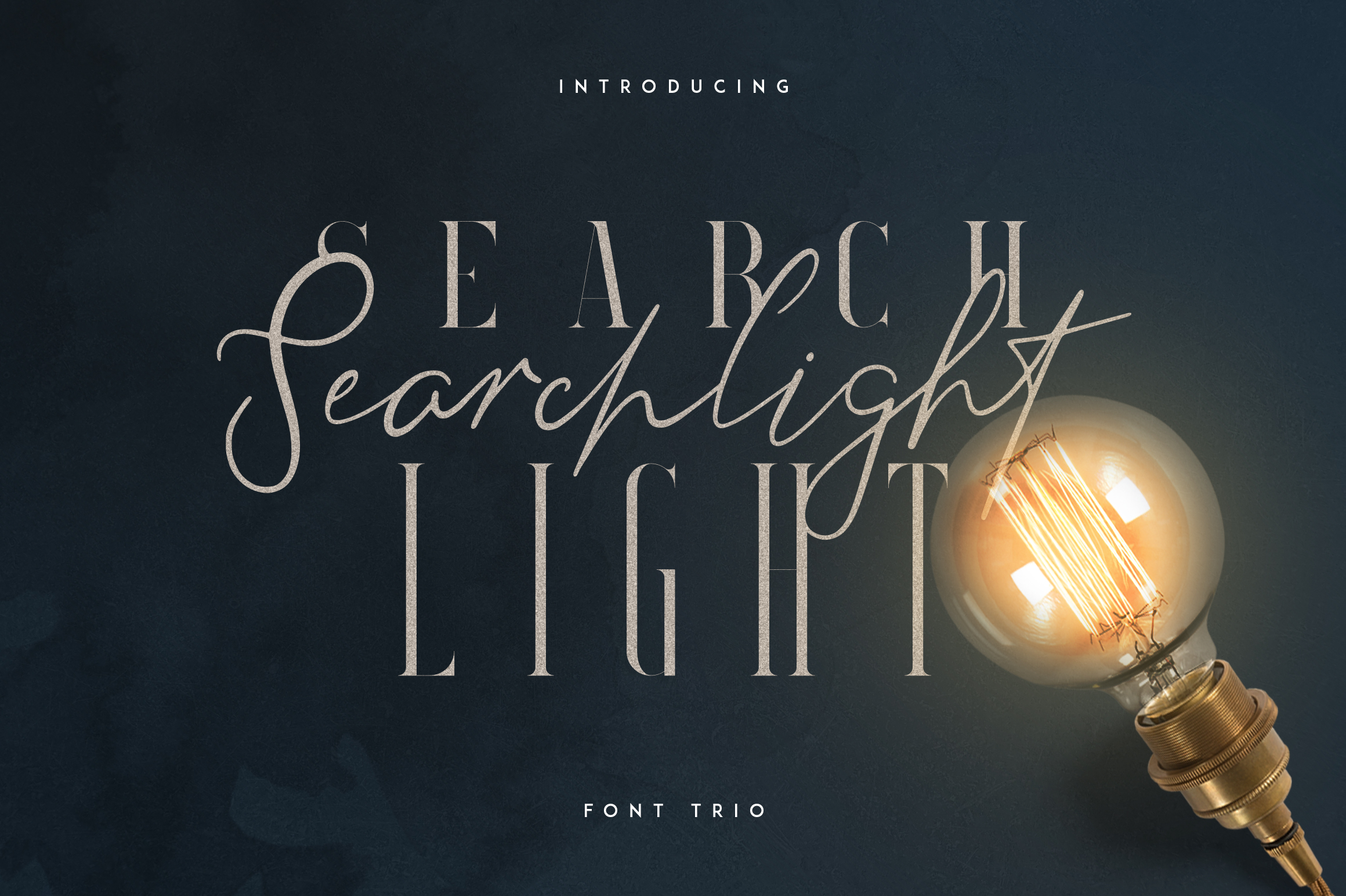 Searchlight - font trio example image 1