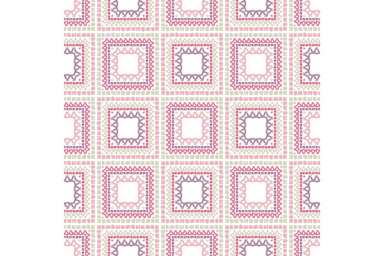 Ethnic boho ornament. Set of 10 seamless patterns. example image 6