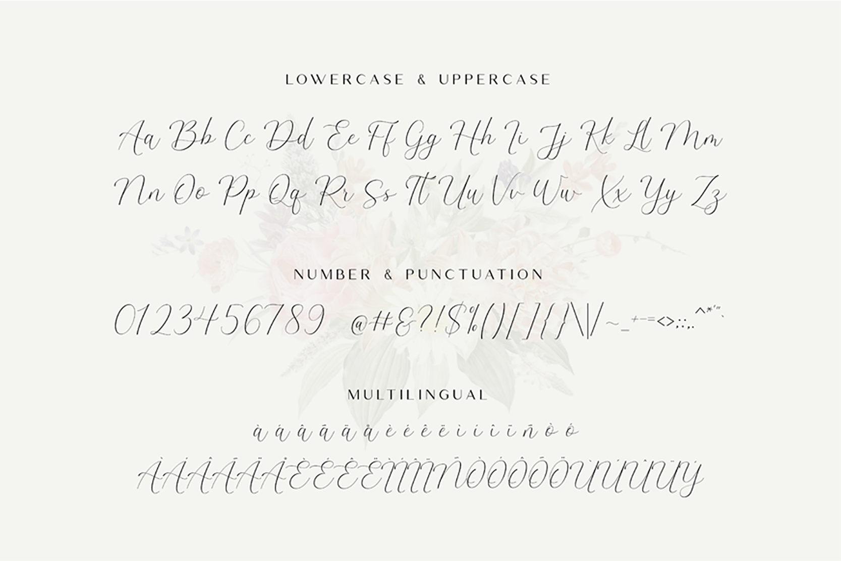 The Britney - Calligraphy Script example image 10