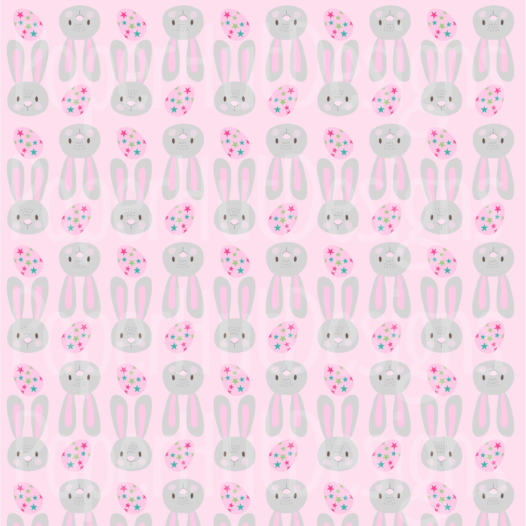 Easter Clipart and Digital Papers Set example image 3